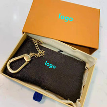 2021 new drawer box key bag men and women pendant bag letter printing coin purse