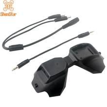 Shenstar d2a fpv módulo adaptador analógico 2-4s plug and play para dji fpv v1 v2 óculos de proteção 5.8g tbs fusão wildfire fogo rápido trued-x