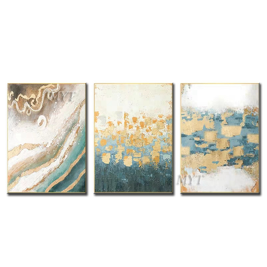 Different Scenery Abstract Diagram Oil Painting Wall Art Home Decor Picture Modern Oil Painting On Canvas Wedding Decoration