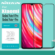 Nillkin for Xiaomi Redmi Note 8 7 Pro Glass Screen Protector XD Full Coverage 3D Safety