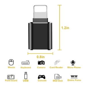 Image 4 - OTG 변환기 번개 USB 3.0 어댑터 아이폰 7 8 6 6s 플러스 11 프로 맥스 X XS XR 키트 변환기 iOS 13 버전