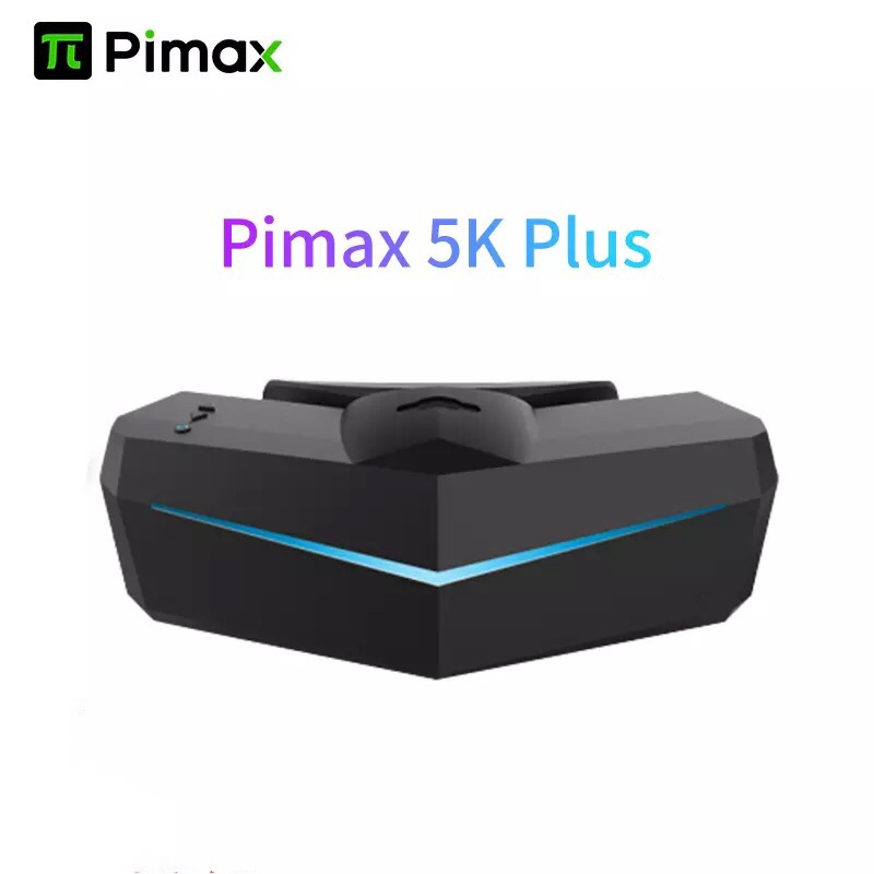 Очки для виртуальной реальности Pimax 5K Plus, 120 Гц, частота обновления, широкий угол обзора 200 °, двойная 2560x1440p RGB ЖК-панель, VR гарнитура