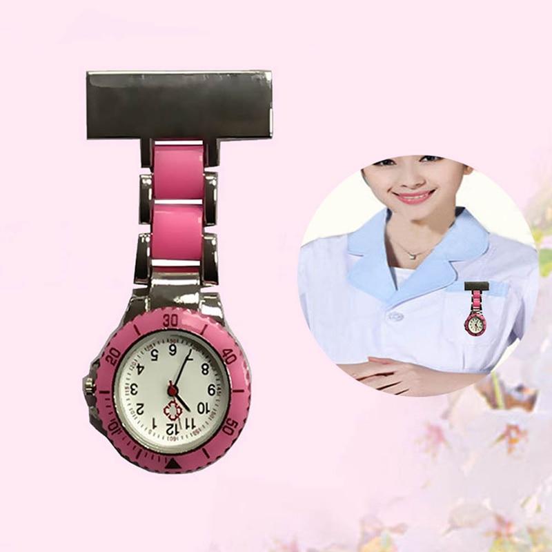Nurse Pocket Watches Arabic Numerals Quartz Brooch Watch Doctor Nurse Hanging Pocket Watches B99