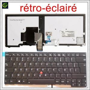 Image 1 - 프랑스어 백라이트 Azerty 키보드 lenovo ThinkPad L440 L450 L460 L470 T431S T440 T440P T440S T450 T450S e440 e431S T460 FR
