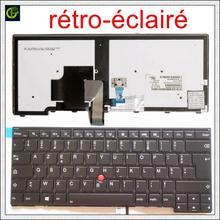 Francese Retroilluminato Azerty Tastiera per lenovo ThinkPad L440 L450 L460 L470 T431S T440 T440P T440S T450 T450S e440 e431S T460 FR