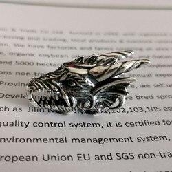Drachen Kopf Verschluss Authentische 925 Sterling Silber Schloss Charms Fit Europäischen Marke Troll Armband DIY Schmuck Machen