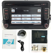 Автомагнитола стерео RCD510 CD-плеер USB AUX SD карта для Volkswagen Golf 5 6 MK5 MK6 CC Tiguan Touran Polo Passat B6 B7