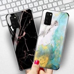 На Алиэкспресс купить стекло для смартфона case for huawei honor v30 pro p40 lite cases luxury marble tempered glass cover on huawei mate 20 10 p20 lite p30 pro covers