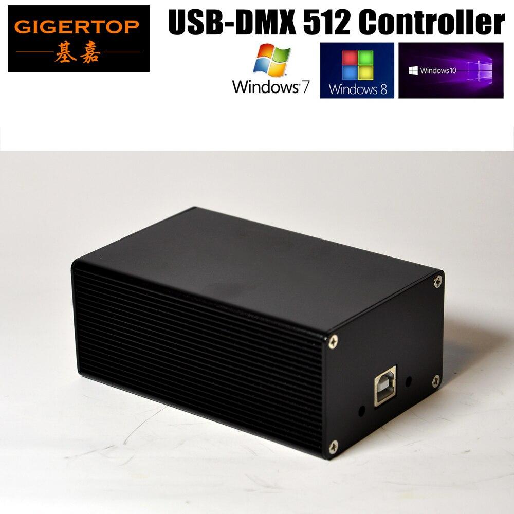 Chine DMX512 contrôleur de lumière de scène boîte HD512 universel USB DMX Dongle 512 canaux PC/SD Mode hors ligne Martin Lightjockey