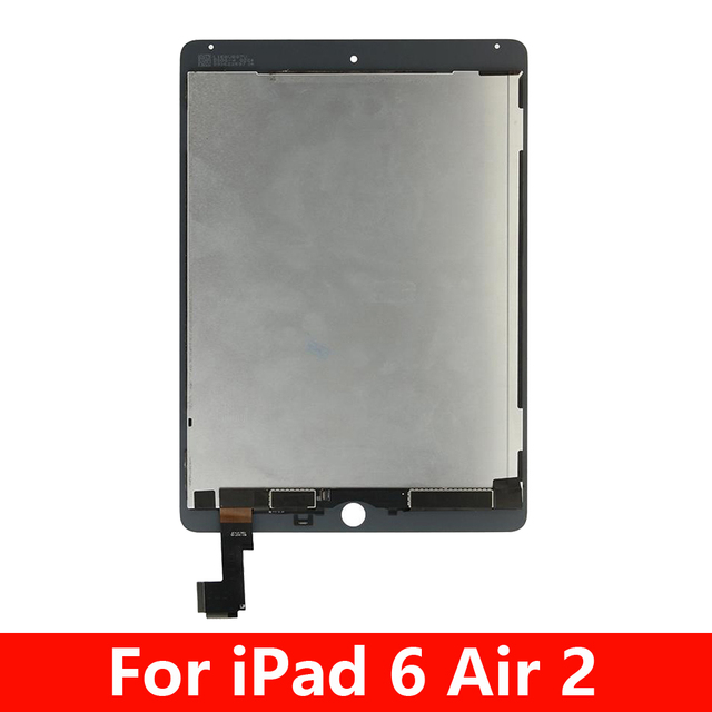 100% Tested Touch Screen For Apple iPad 6 Air 2 A1567 A1566 LCD Display Touch Screen Digitizer Assembly Replacement parts