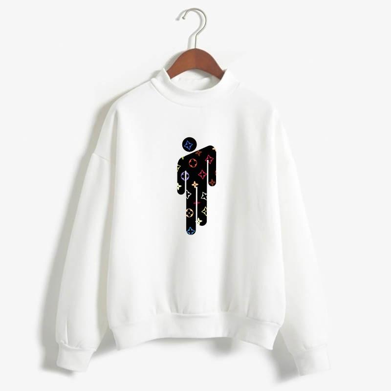 Billie Eilish Hoody Hip Hop Unisex Sweatshirts Fashion Funny  Hombre Tops Moletom Pullover Plus Size
