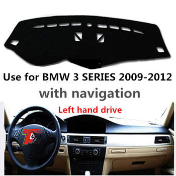Taijs Left Hand Drive 3 Colours Polyester Material Car Dashboard Mat for BMW 3 Series E90 E91 E92 E93 2009 2010 2011 2012 image