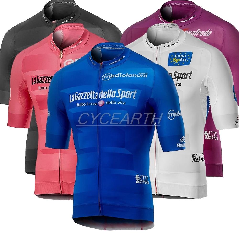 Tour De ITALY ITALIA 2019 Cycling Jerseys Summer Short Sleeve MTB Tops Cycling Shirt Ropa Maillot Ciclismo Racing Clothes