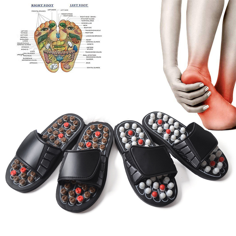 Foot Massage Slippers Acupuncture Therapy Massager Shoes  Foot Acupoint Activating Reflexology Feet Care 1
