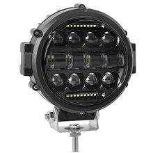 Runde LED Work Licht, 60W Flood Spot Combo Beam LED Licht Tagfahrlicht Licht Off Road Fahren Lichter für Lkw SUV