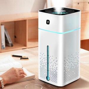Image 4 - Ultraschall luftbefeuchter Diffusor Stumm 7 Farbe Nacht Licht 1000ML Mini Aromatherapie Diffusoren Kühlen Nebel Maker Hause Luftreiniger