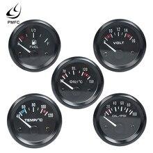 Medidor de temperatura de agua para coche, 12V, 2