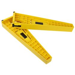 2pcs Drawer Slide Jig Set Mounting Tool For Cabinet Furniture Extension Cupboard Hardware Install Guide Woodworking Tools