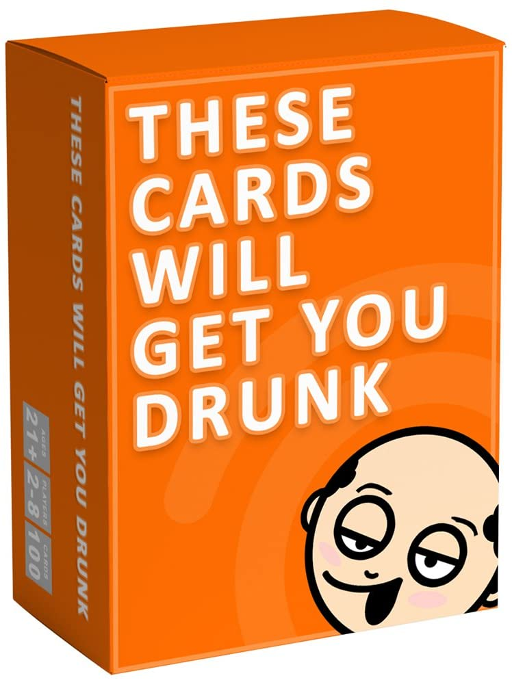 These cards will make you drunk-party fun adult drinking games board games card party events(China)
