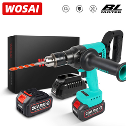 WOSAI MT-Series 20V Brushless Electric Drill 130NM Cordless Electric Screwdriver 1/2