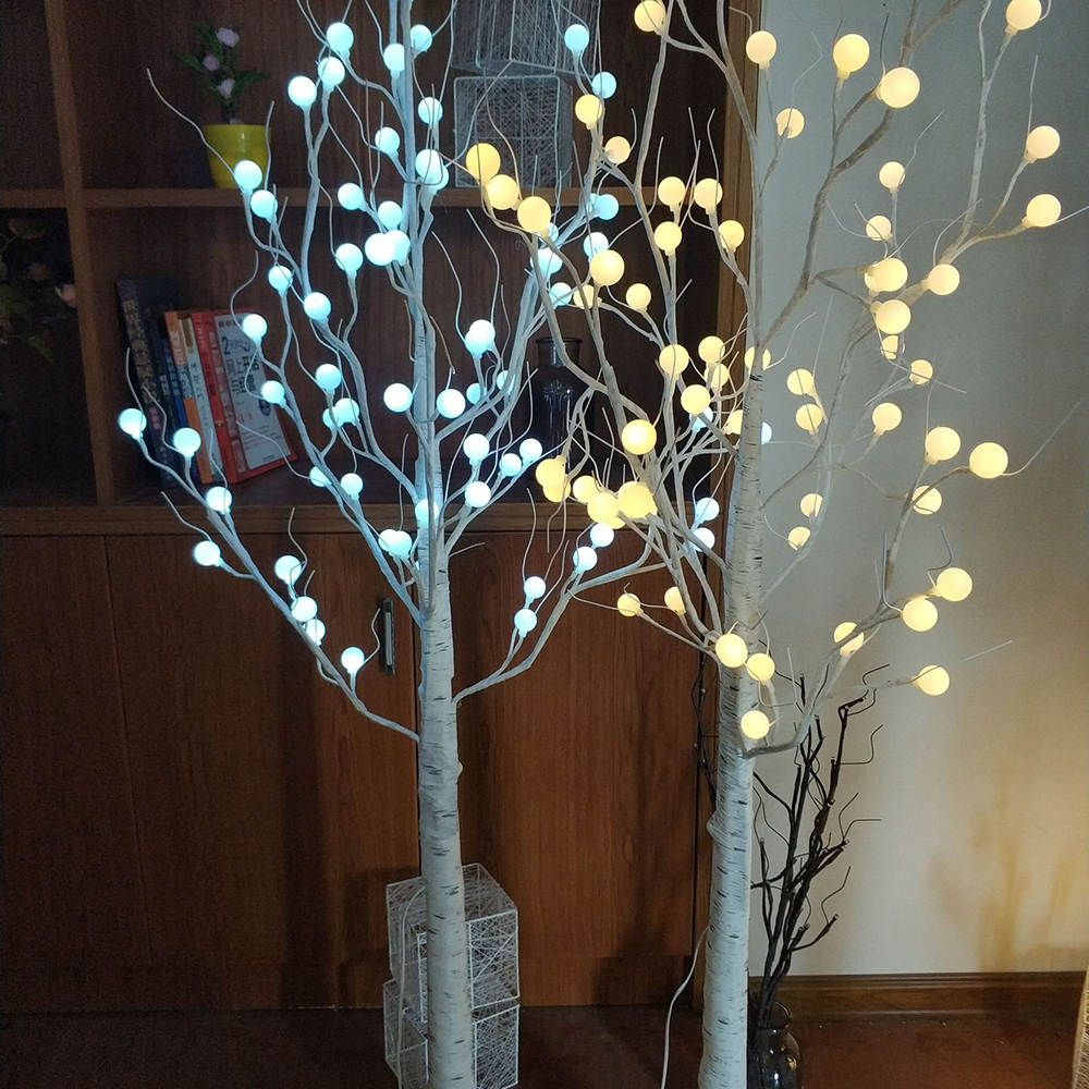 45cm 60cm LED Globe Ball Branch Light Christmas Decorations Table Night Lamp For Home Holiday Wedding Decoration Indoor Outdoor