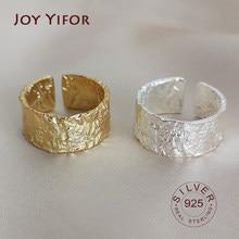 Bague Ellipse en argent sterling 925 pour femmes, surface mate, redimensionnable, faite à la main, bijoux fins, accessoires, 925