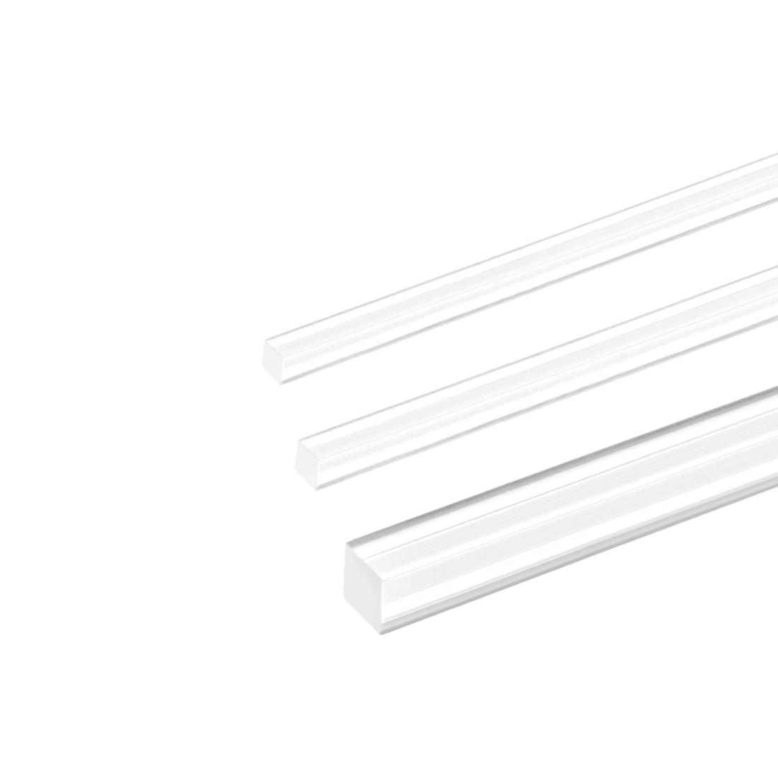 Uxcell Acrylic Plexiglass Rod 20