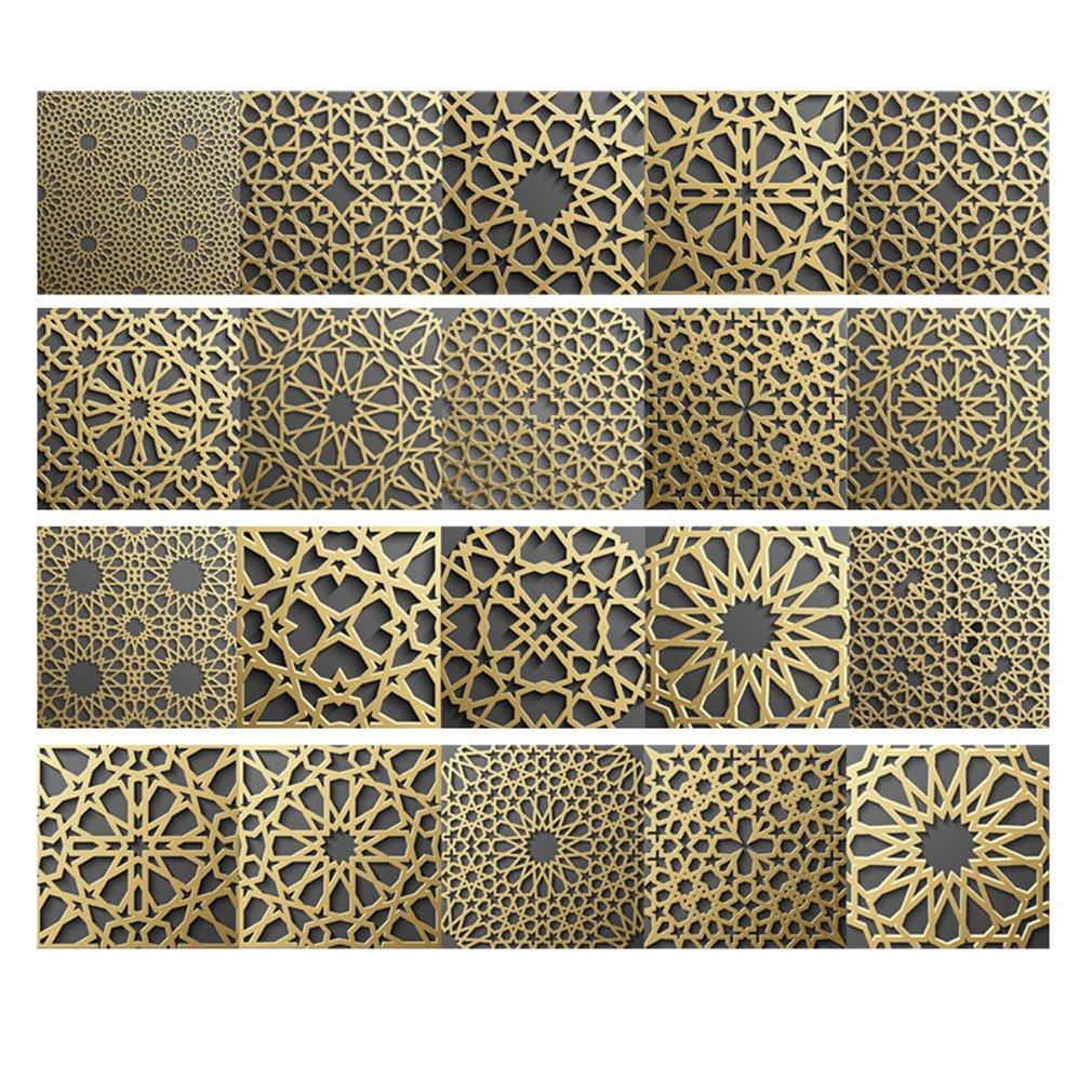 Cz047 pegatinas de azulejo marroquí pegatina impermeable autoadhesiva decoración del hogar Disney Mickey Mouse, Luna, estrellas, calcomanía de vinilo para pared, buen sueño, pegatina de pared, niños, bebé, decoración para habitación infantil, pared del dormitorio, Mural