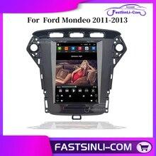 Androidフォードモンデオ2011 2013年垂直大画面gpsマルチメディアラジオnavigatonシステム