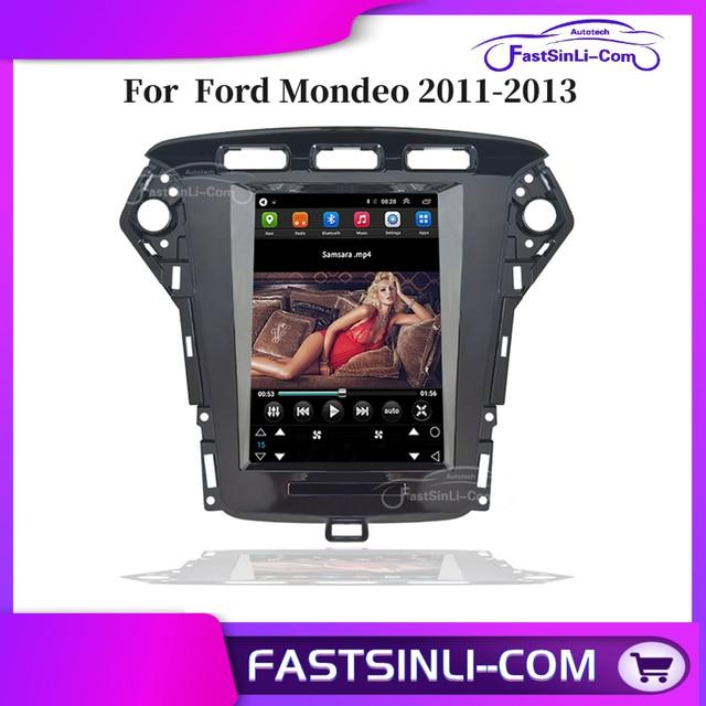 Jogador android para ford mondeo 2011 2013 anos vertical grande tela gps multimídia rádio sistema navigaton