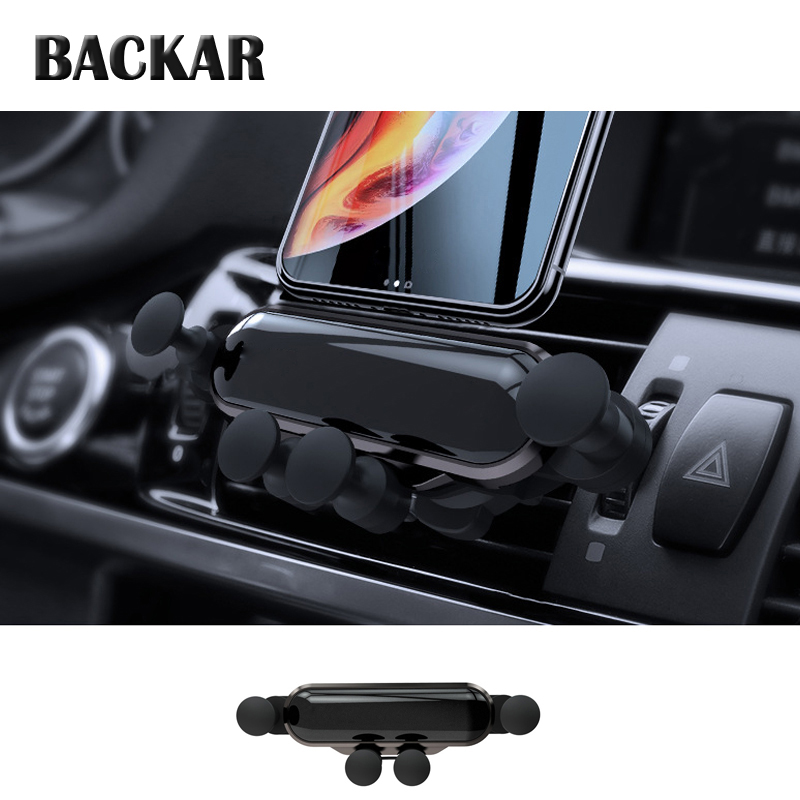 Universal Car <font><b>Phone</b></font> <font><b>Holder</b></font> For Hyundai i30 ix35 ix25 Solaris Tucson 2017 <font><b>Mazda</b></font> 3 <font><b>6</b></font> cx-5 Subaru Gravity sense stabilization image