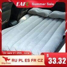 سيارة سرير هوائي مجموعة كاملة مع Airpump و وسادة في الهواء الطلق التخييم حصيرة وسادة نفخ المقعد الخلفي سرير سفر فراش