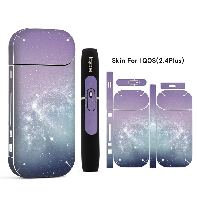 Galaxy Sticker Printing Skin For IQOS Sticker Printing Skin For IQOS Sticker 2 4 Plus 2 4p E Cigarette Cover Case in CD DVD Player Bags from Consumer Electronics
