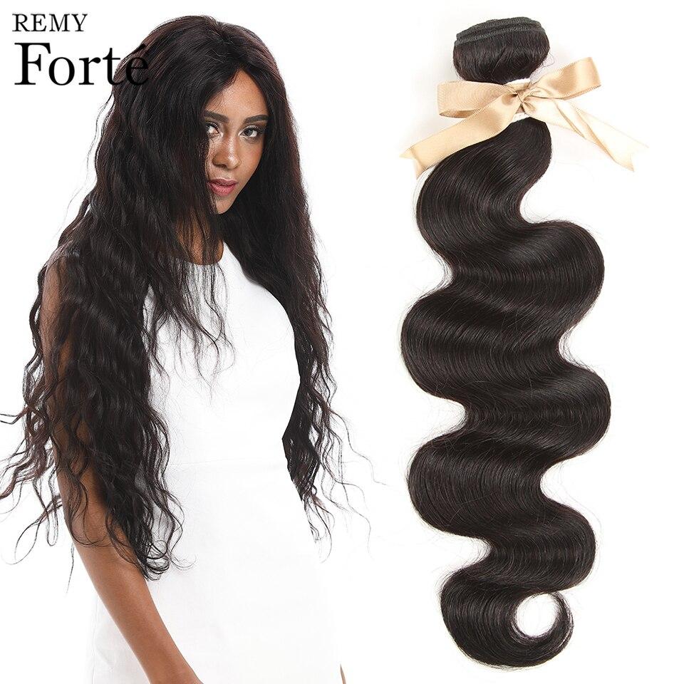 Remy Forte Bodywave Bundles Remy Brazilian Hair Weave Bundles Natural Color 1/3 Human Hair Bundles 30 Inch Hair Bundles Fast ZA