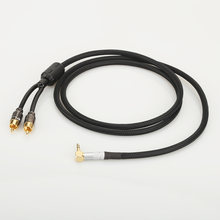 Кабель hifi аудиокабель rca аудиосигнальный провод штекер 35