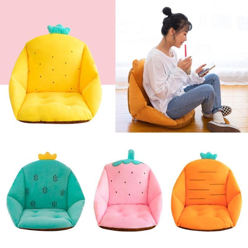 Thickened Soft Baby Sofa Chair Cushion Pad Cartoon Fruit Office Chair Seat Mats Pad Cushion Stroller Buttocks Cushion Home Decor