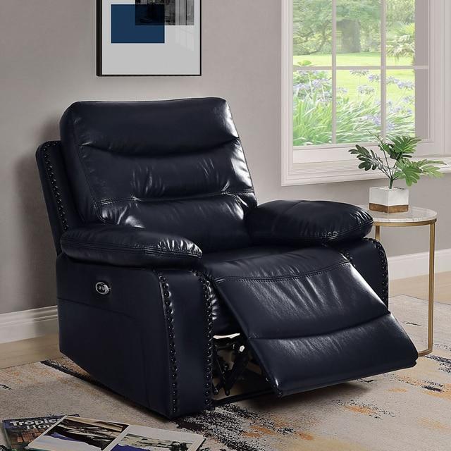 Antique European Creative Leather  Recliner Chair  1