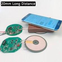 12v diy universal qi sem fio carregador padrão pcba placa de circuito acessórios 15w carregamento rápido para iphone samsung xiaomi huawei