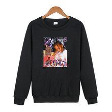 Женские повседневные пуловеры с принтом готика Харадзюку Корейская
