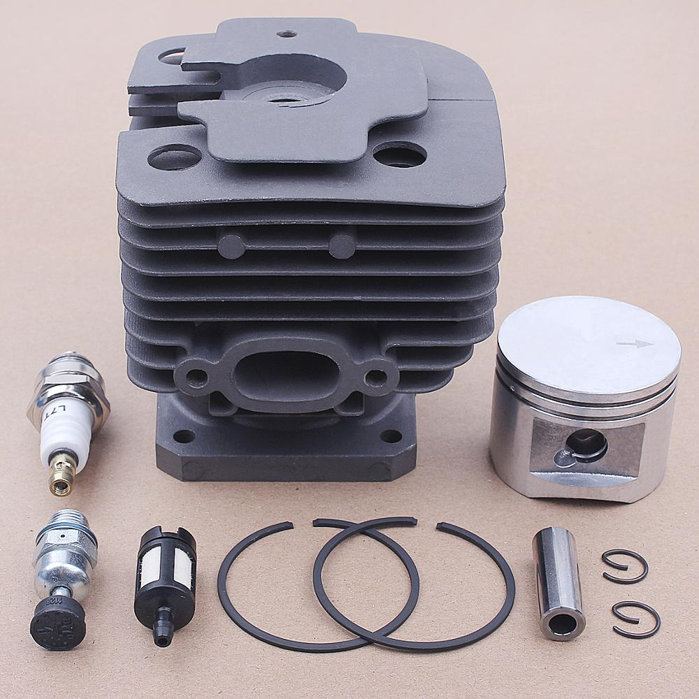 44mm Cylinder Kit For STIHL FS400 FS450 FS480 SP400 FR450 Chainsaw 4116 020 1215 Spark Plug Fuel Filter Replacement