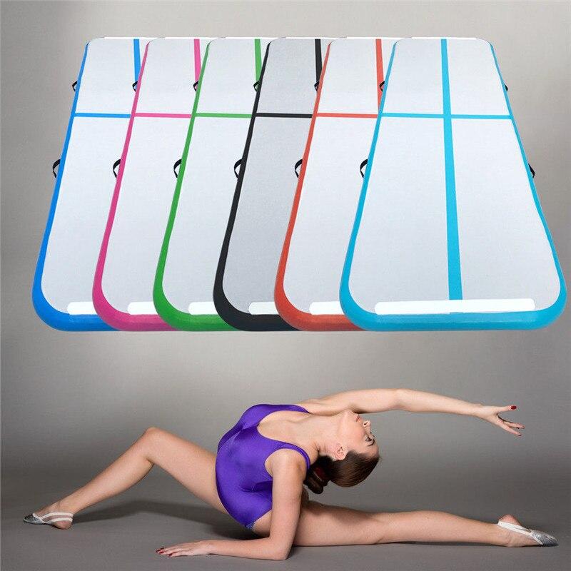 3m 4m 5m Inflatable Air Track Gymnastics Mattress Gym Tumble Airtrack Floor Yoga Olympics Tumbling Wrestling Yogo Electric Pump