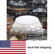2PCS Led UFO 500W Industrial Lamp Led Garage Light 50W 100W 200W 300W LED High Bay Lamp Ultraslim Waterproof Commercial Lighting brightinwd 10pcs ufo high bay 100 265v 100w 150w 200w led flood light smd3030 garage light industrial led lamp warm cold white