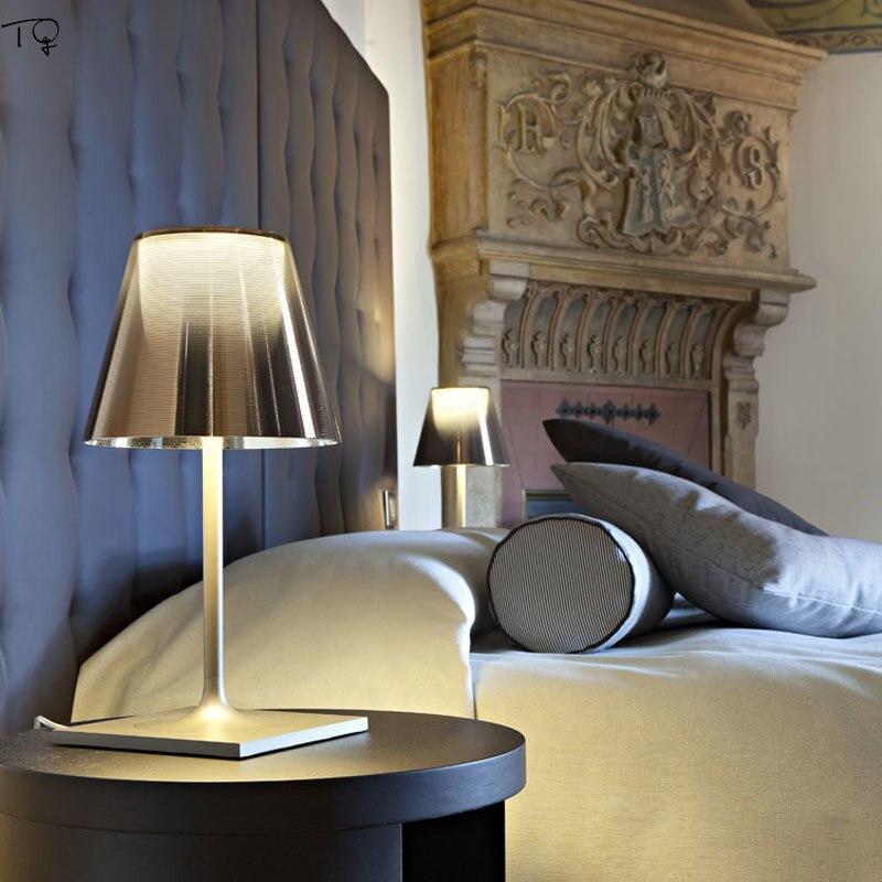 Italien Einfache, Moderne Led Tisch Lampe FLOS Ktribe Individuelle Kreative Bunte Schreibtisch Lampe Wohnzimmer Schlafzimmer Nacht Büro Decor - 3