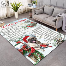 Свадебный Рождественский узор модные мягкие фланелевые коврики