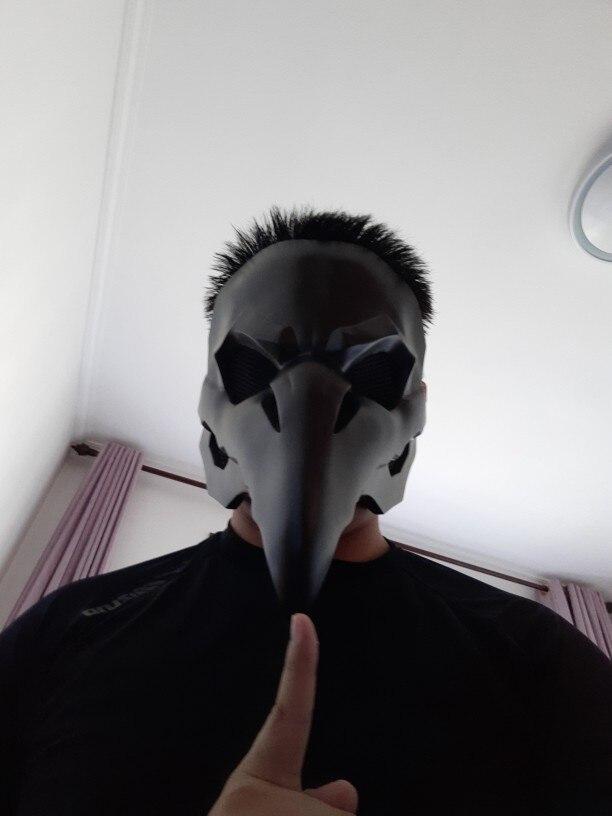 IGACG панк маска ворона жнец Nevermore маски для кожи жнец чумной доктор Маска Птицы длинный нос панк ворона Ретро Рок