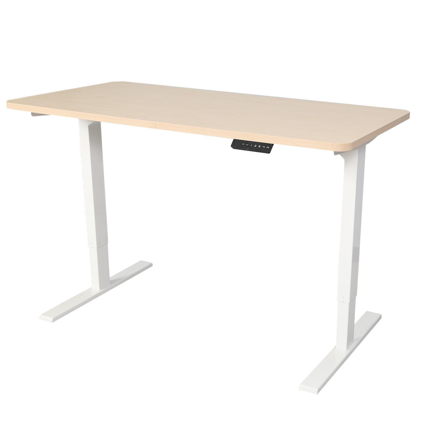 Electric Height Adjustable Computer Desk Standing Office Lifting Table