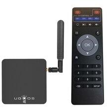 UGOOS AM3 안드로이드 7.1 마시맬로 OS 스마트 TV 박스 2GB + 16GB Amlogic S912 Octa 코어 2.4G 및 5G WiFi H.265 VP9 UHD 4K 미디어 플레이어