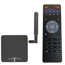 UGOOS AM3 Android 7.1 Marshmallow OS Smart TV Box 2GB+16GB Amlogic S912 Octa core 2.4G & 5G WiFi H.265 VP9 UHD 4K media player