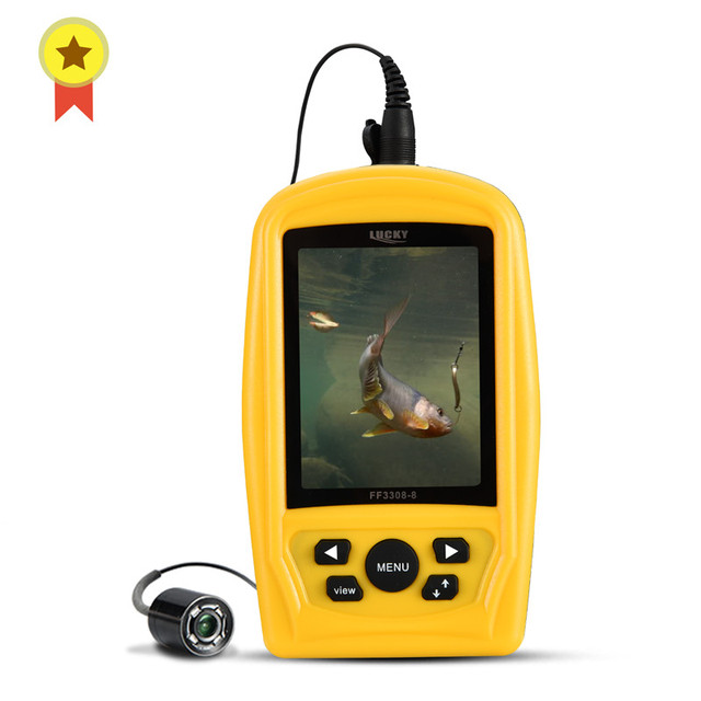 """LUCKY Portable Underwater Fishing&Inspection Camera Night vision Camera System CMD sensor 4.3"""" LCD Monitor Fish Sea 20M Cable"""