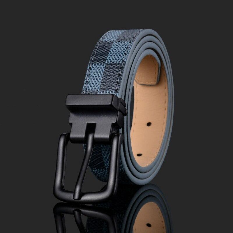 Wholesale New Unisex Belts Luxury Design Fashion Children's Belt Boys Girls Pin Buckle Children Jeans Belts Waistband